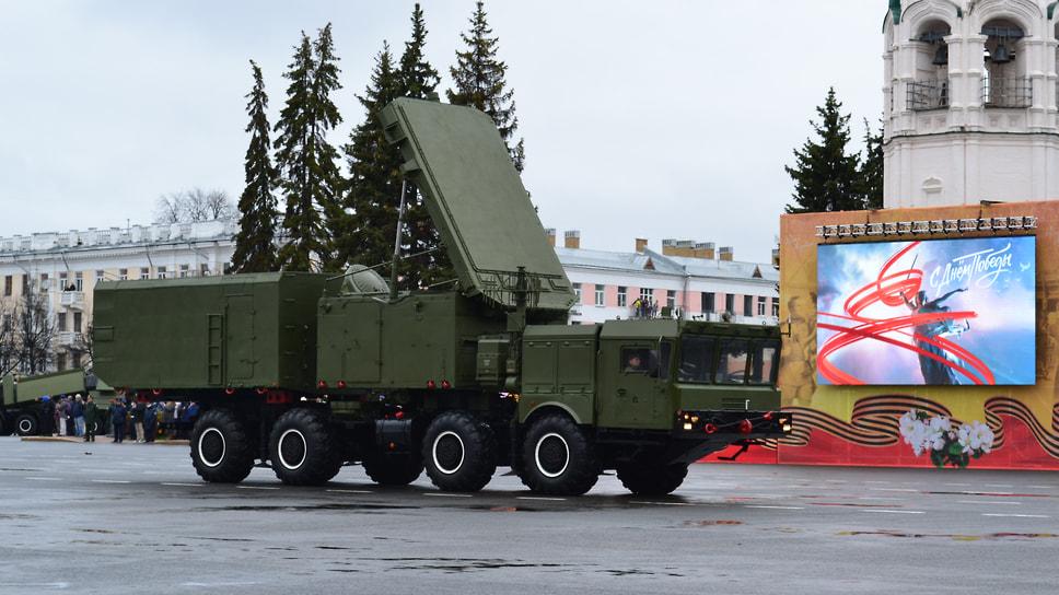 Многофункциональная РЛС на базе комплекса ЗРС С-400.