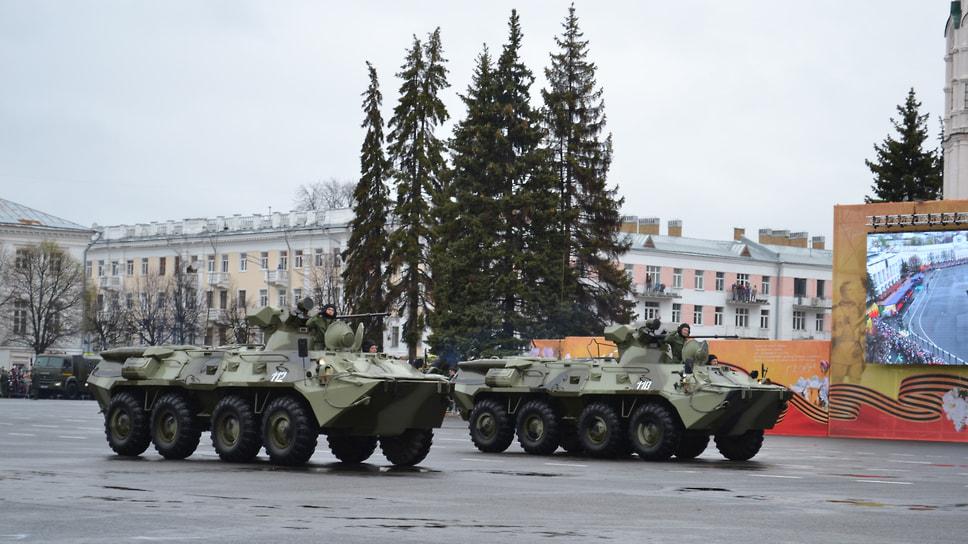 БТР-80 и БТР-80А.