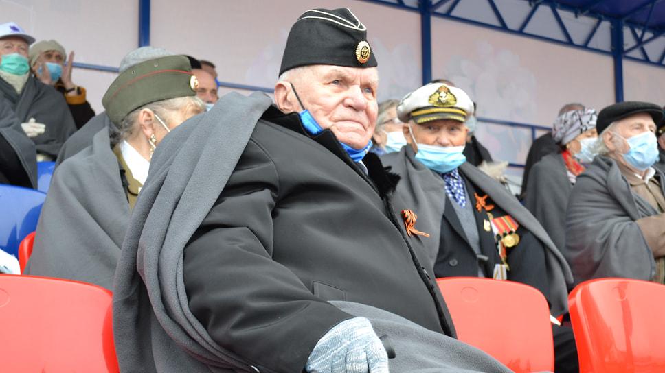 Юрий Спиридонов, ветеран Великой Отечественной войны.