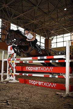 БАРЬЕР ВЗЯТ Как пройдет прыжок, почти полностью зависит от человека, лошадь только исполняет приказы наездника