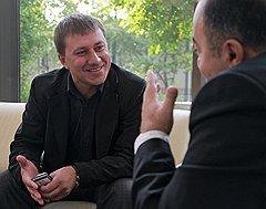 Павел Михмель (слева) и Мушег Мамиконян