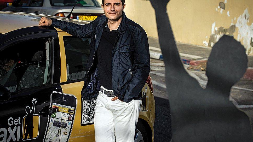 Поймал такси GetTAXI Шахара Вайсера уже работает в 13 городах Израиля, Лондоне, Москве и нью-йорке
