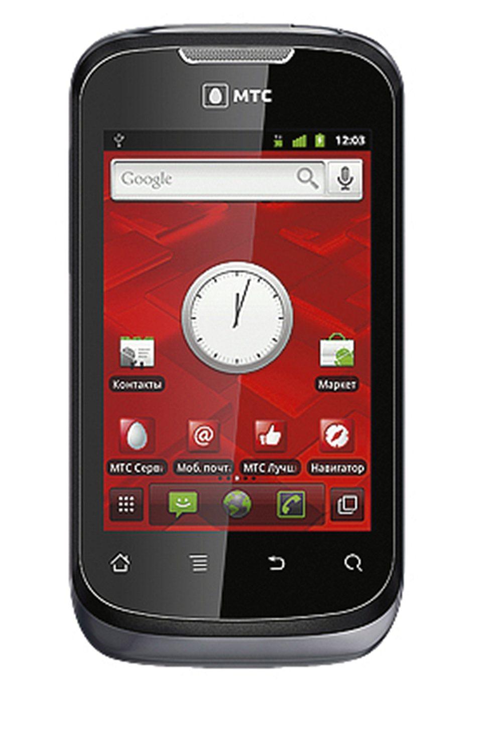 Приз: Android-смартфон МТС 955