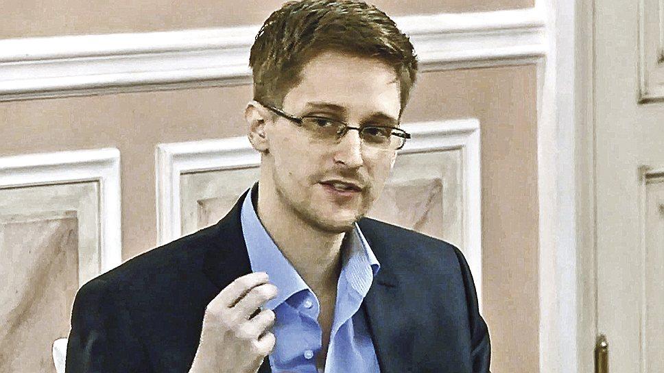 Эдвард Сноуден, бывший сотрудник Агентства национальной безопасности США