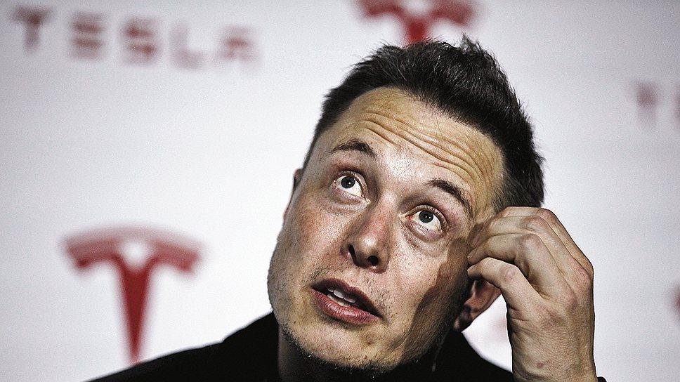 Элон Маск, основатель и генеральный директор Tesla Motors и Space X