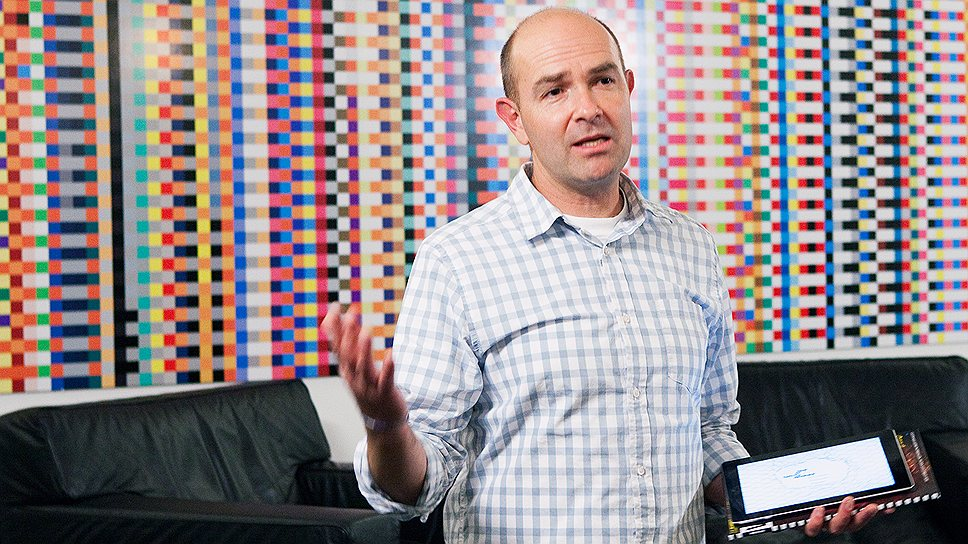 Wired Editor-in-Chief Chris Anderson.