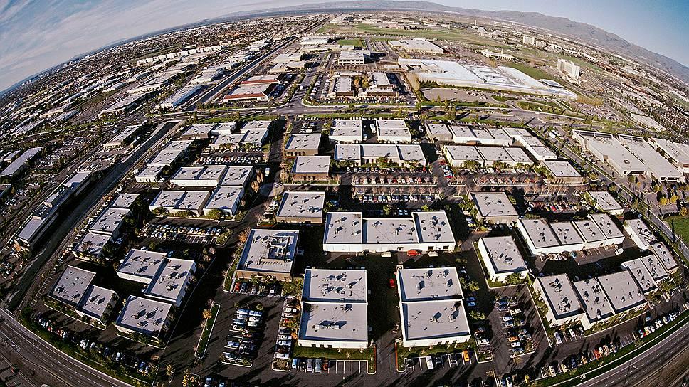 Офисный центр. Кремниевая долина — место с предельной концентрацией офисов технологических компаний