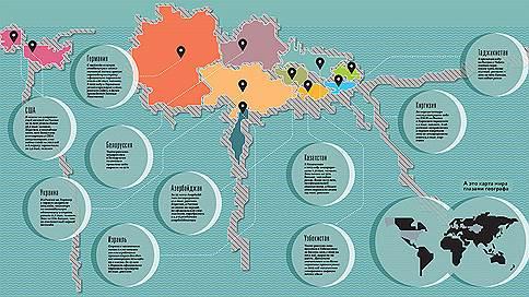 География эмиграции  / Мир глазами российских эмигрантов
