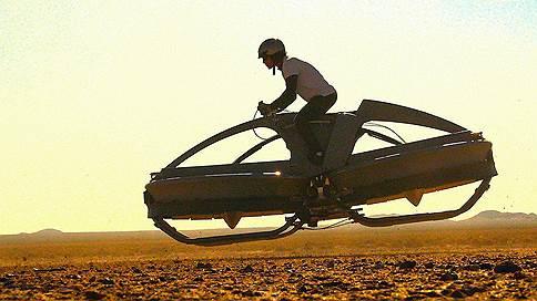 Летящий ездок  / Каких высот можно достичь, придумав воздушный квадроцикл