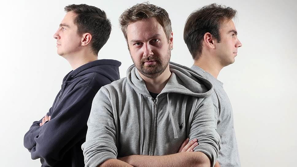 10 секунд для старта. Братья Гладкобородовы (Игорь — слева, Антон — в центре) и Михаил Табунов смогли привлечь миллионы пользователей, придумав формат вирусных 10-секундных видеороликов