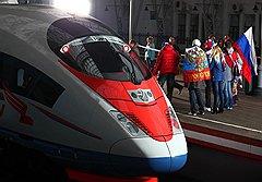 «Сапсан» — первый поезд, для которого ОАО РЖД разработало специальную тарифную систему, во многом перекликающуюся с предложениями авиаперевозчиков