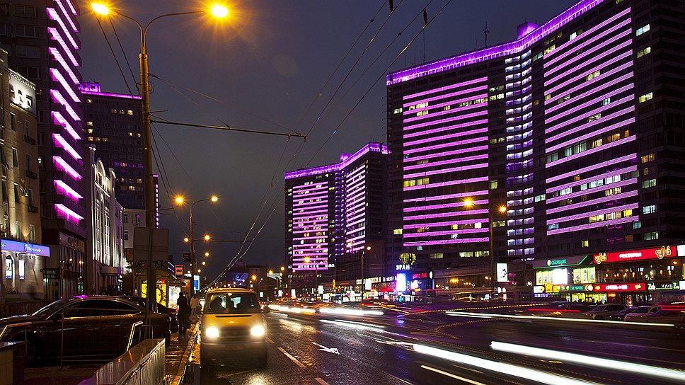 Светодиодные технологии Philips позволили сделать облик зданий более современным