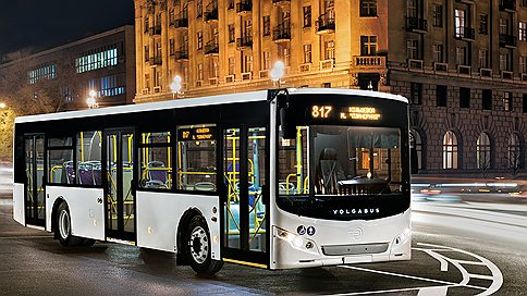 Новый городской автобус из Волжского  / городской транспорт