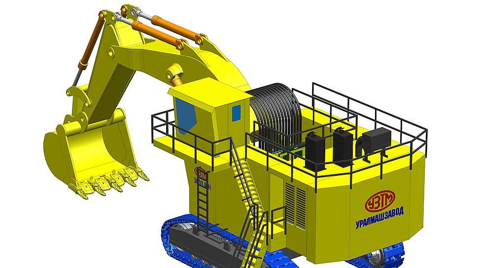 Первый опытный образец гидравлического экскаватора нового поколения уралмашевцы собираются изготовить в 2016 году
