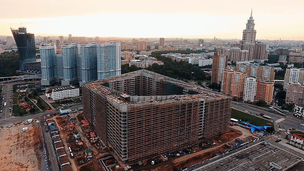 В августе в Москве было заключено рекордное количество договоров долевого участия