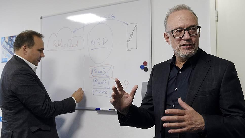 Президент ГК ФОРС Алексей Голосов и директор по технологиям компании Андрей Тамбовский объясняют, как облака помогают бизнесу