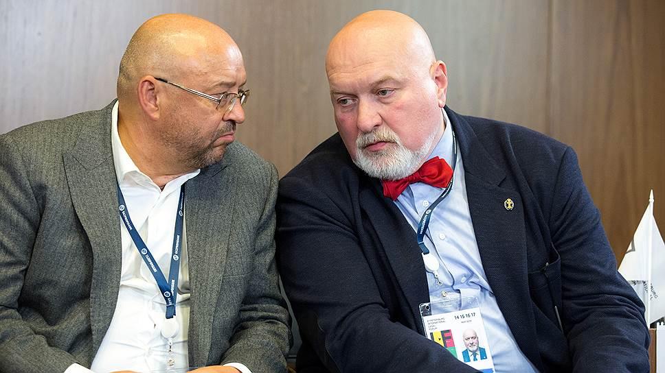 Управляющий партнер «Пепеляев Групп» Сергей Пепеляев (слева) и президент ФПА РФ Юрий Пилипенко считают, что к разработке единых правил стоит подходить аккуратно