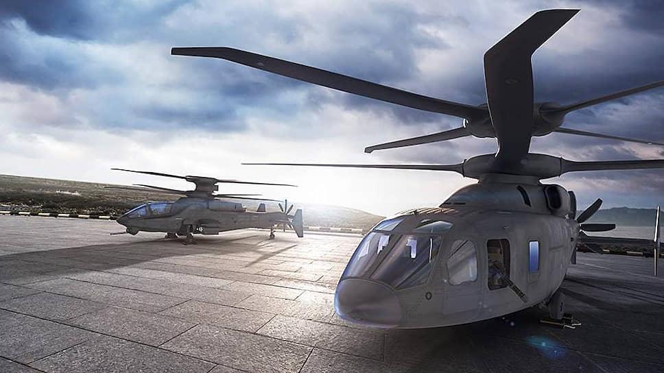 Прототип высокоскоростного вертолета Sikorsky-Boeing SB-1 Defiant