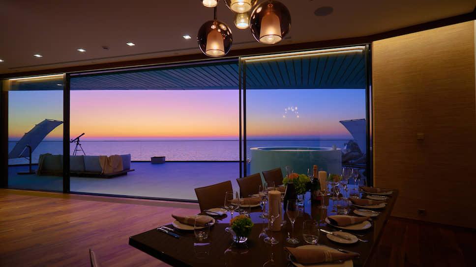 Интерьер клубной резиденции Reef Residence