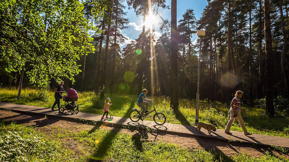 Городские парки могут стать популярными у горожан, если они сами принимали участие в их создании