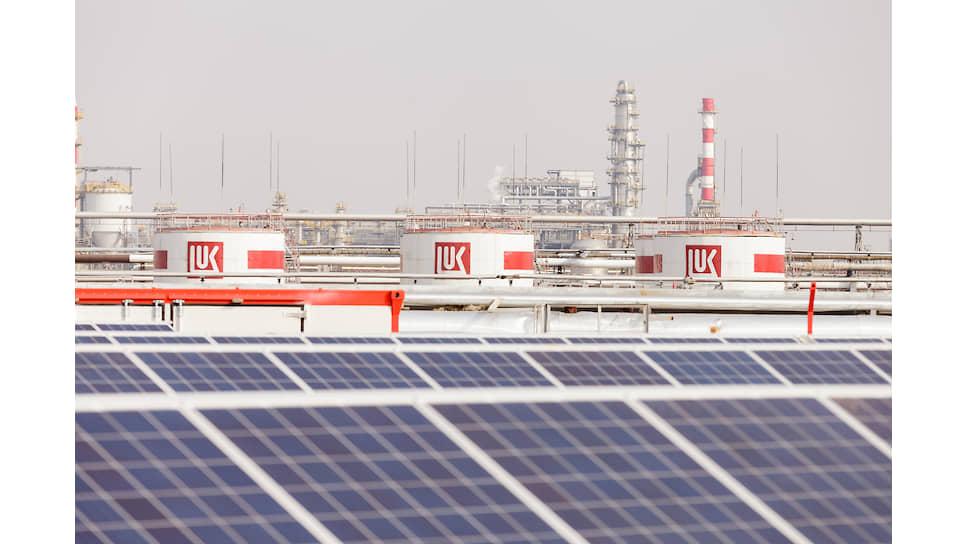 ЛУКОЙЛ активно развивает альтернативную энергетику на юге России. Солнечная электростанция в Волгограде