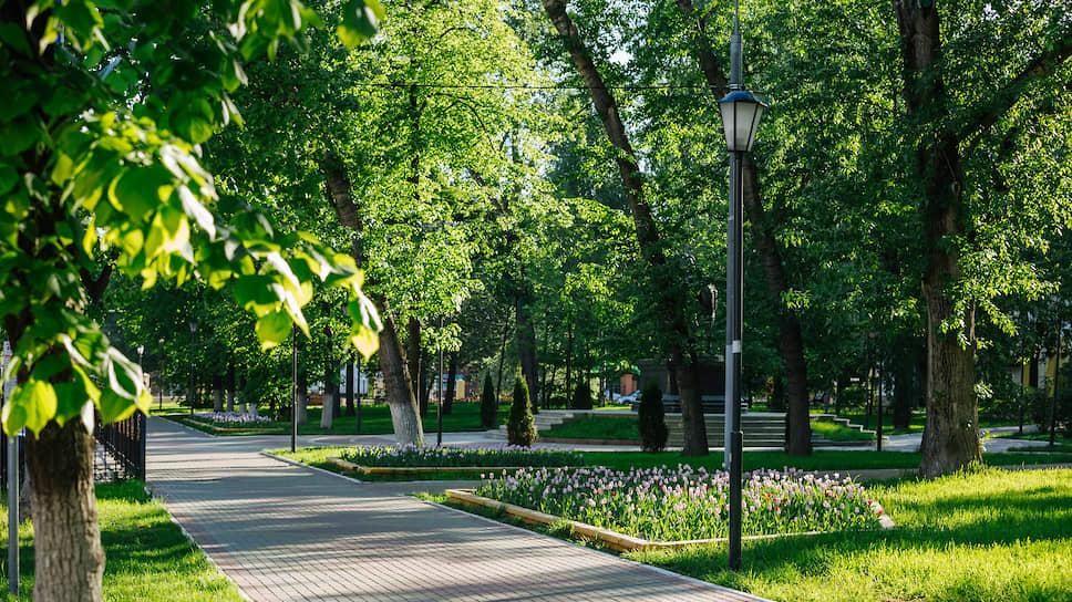 Парк в районе Леофортово