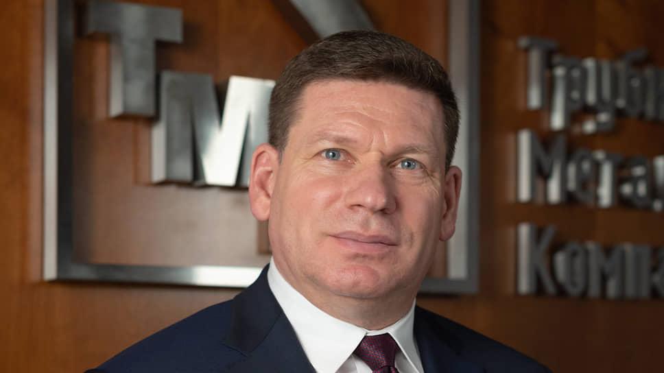Первый заместитель генерального директора—главный инженер Трубной металлургической компании (ТМК) Вячеслав Попков