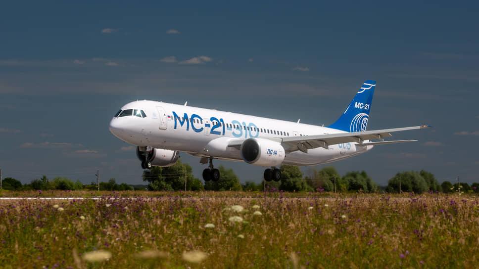 Первый конкурентный / Пассажирский магистральный самолет МС-21 с отечественными двигателями — главная новинка авиасалона МАКС-2021 в Жуковском