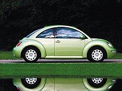 Volkswagen в модели 1998 года New Beetle воспроизвел дизайн 1940 года с поправкой на современные вкусы