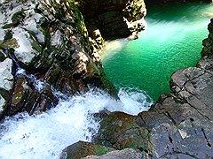 В Сочинском национальном парке более 20 природных памятников, из которых 4 — водных