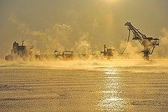 Прогнозные запасы углеводородов на российском шельфе составляют 130 млрд тонн. Эта цифра будет скорректирована после проведения детальных геологоразведочных работ на дне