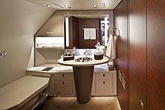 Роскошные интерьеры — визитная карточка бизнес-лайнеров. Таких, как этот ACJ 319 австрийской Tyrolean Jet Services