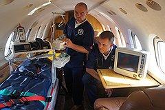 На борту должно быть все готово, чтобы оказать пациенту полноценную помощь