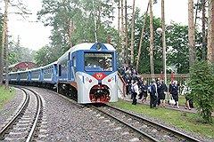 Капитально отремонтированный и модернизированный тепловоз ТУ2-078 на Малой Московской железной дороге