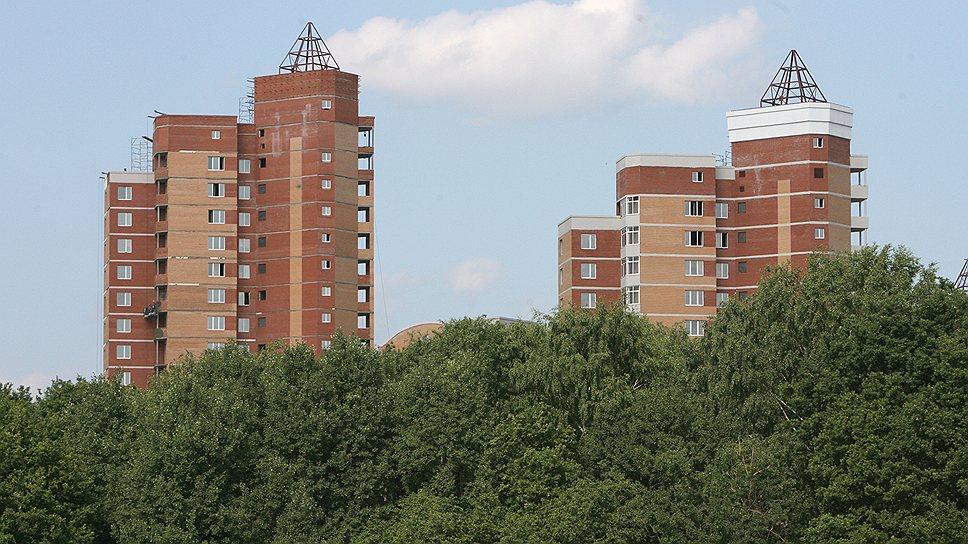 """Бывшая """"зеленая зона"""" Подмосковья становится территорией многоэтажной застройки"""