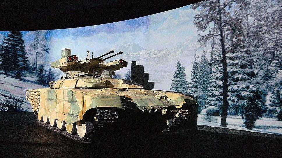 """""""Терминатор-2"""" — модернизация всемирно известного танка Т-72, который эксплуатируется в десятках государств"""