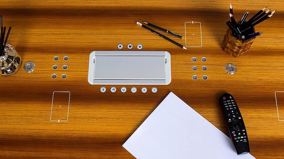Переговорный стол Tabula Sense Conference со встроенной спикер-системой