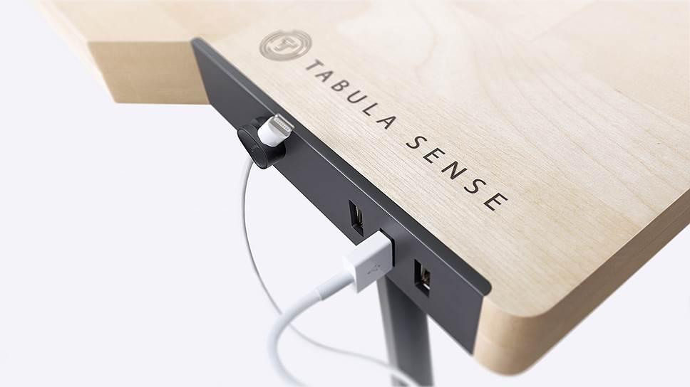 Встроенные зарядки USB charge в модели Tabula Sense Light