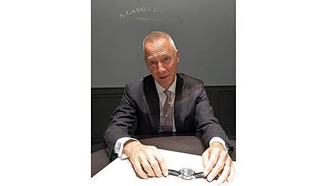 """Нам нужны и часовщики, и """"цифровики""""  / Вильгельм Шмидт, A. Lange & Sohne"""