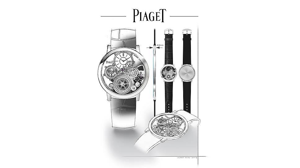 Piaget Ultimate Concept с толщиной механизма всего 2 мм