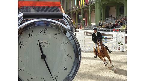 Выигранные секунды  / Saut Hermes в парижском Гран-Пале