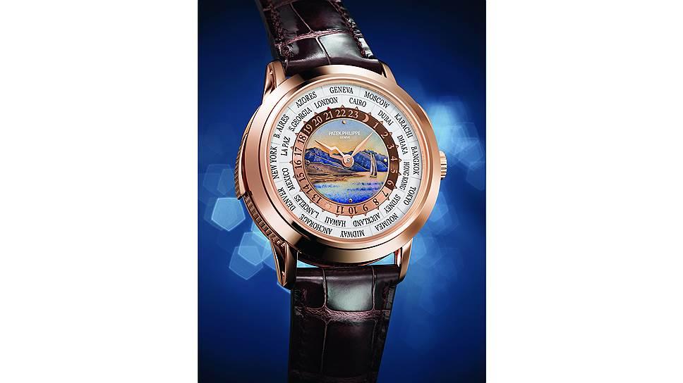 Patek Philippe World Time Minute Repeater Ref.5531, розовое золото, эмалевый циферблат, лимитированная серия
