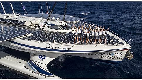 Солнце, воздух и вода  / Breguet пускается в Race for Water