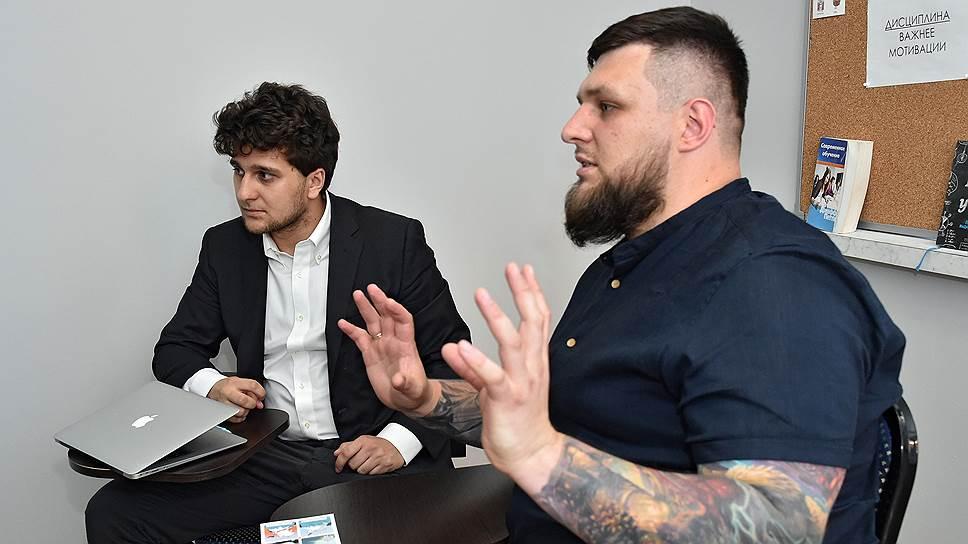 Основатели образовательного проекта LUDI Илья Созонтов (справа) и Андрей Гречко