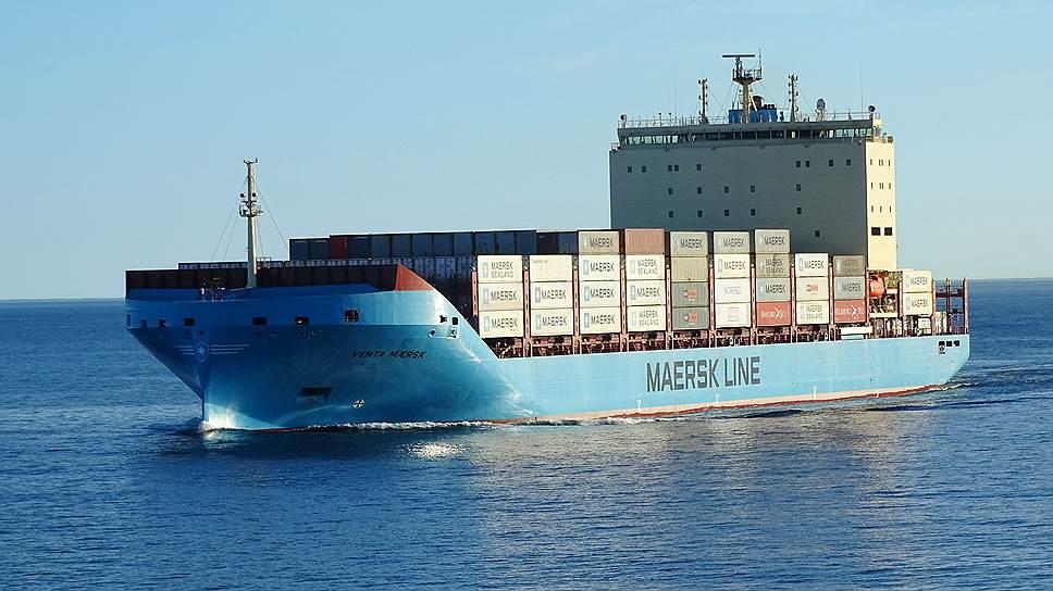 Контейнеровоз ледового класса Venta Maersk проведет в полярных водах Арктики около 30 дней