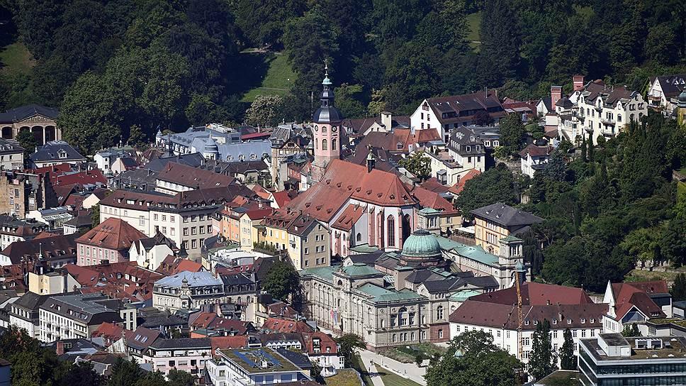 Баден-Баден — один из трех Рулетенбургов