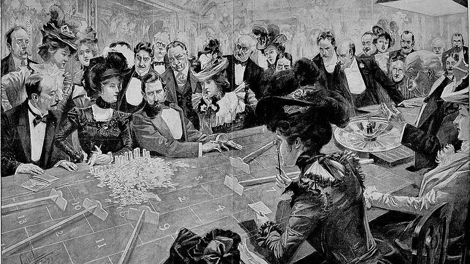 Расцвет популярности рулетки в Европе совпал с расцветом русской классической литературы