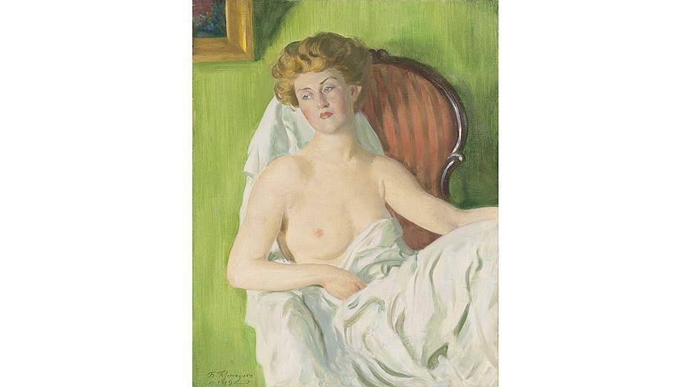 Борис Кустодиев. «Модель». 1919. Christie's