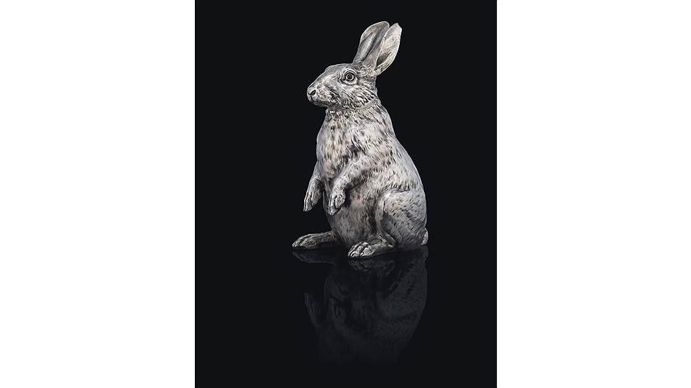 Серебряный кувшин «Кролик». Фирма Фаберже. Москва, 1894. Christie's
