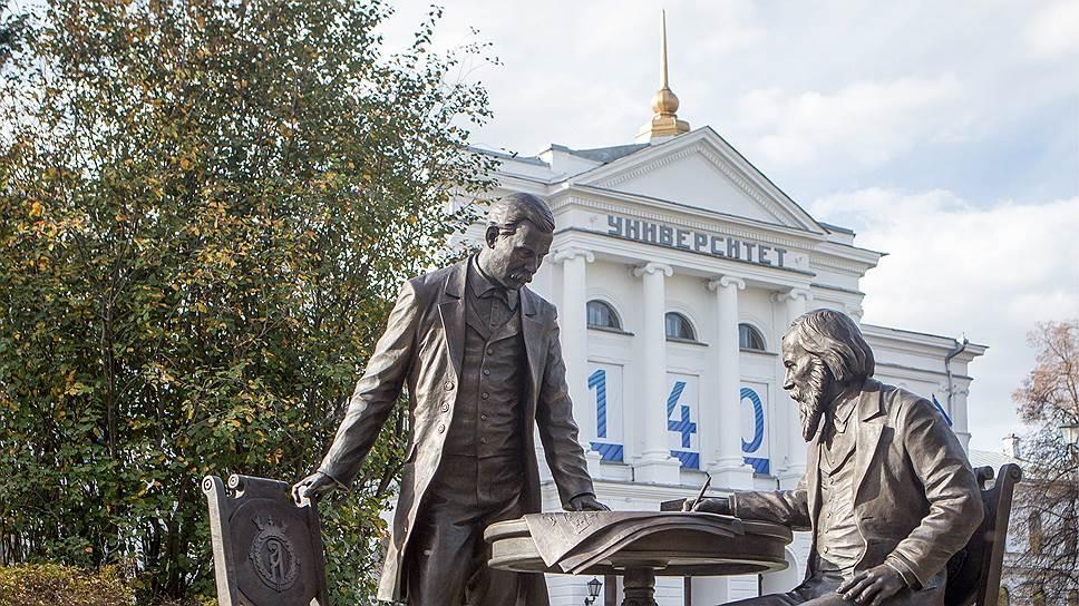 Томский государственный университет, один из старейших в России (основан в 1878 году) рейтинге Times Higher Education входит в группу 501-600